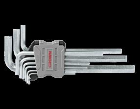 Picture of 9 pcs hex key sets, long