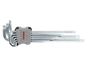 Picture of 9 pcs torx key sets, extra long